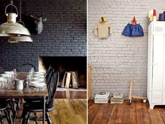 Peindre votre brique intérieure