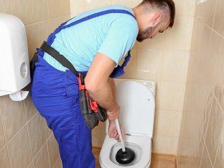 toilettes bloquées