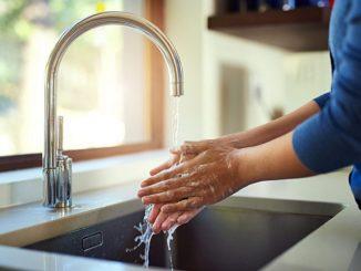 Chute du débit d'eau dans un robinet